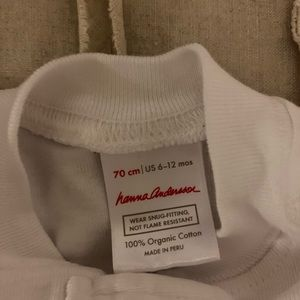 Hanna Andersson Pajamas - Three size 70 Footed Hanna Andersson Sleepers